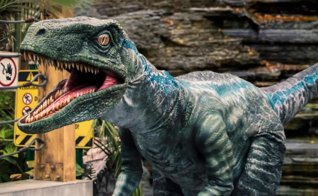Jurassic Park Raptor Encounter