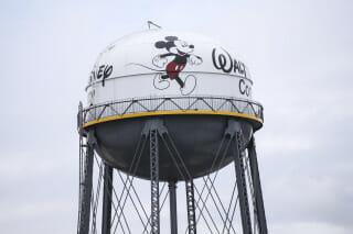 Disney Watertower