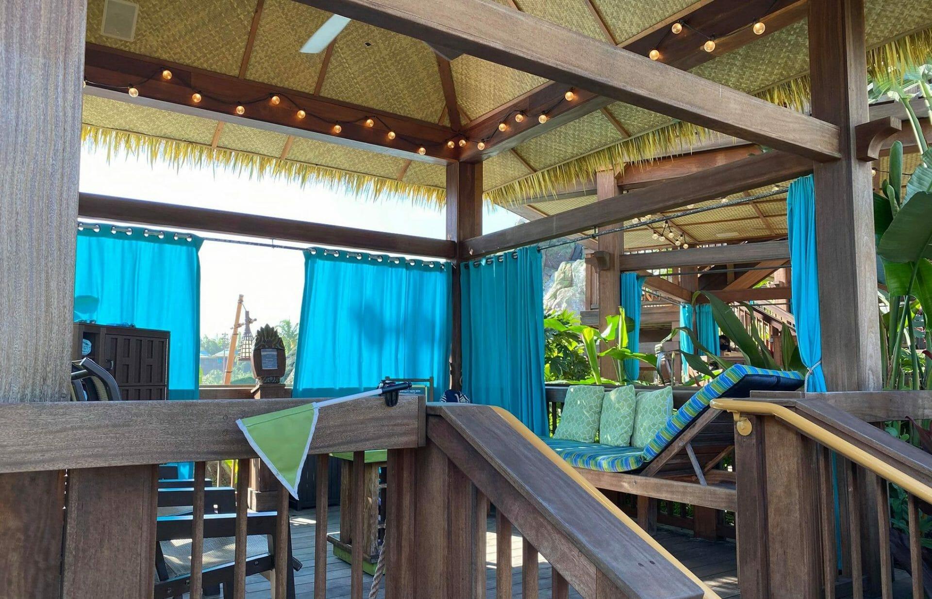 Universal's Volcano Bay Private Cabanas 101