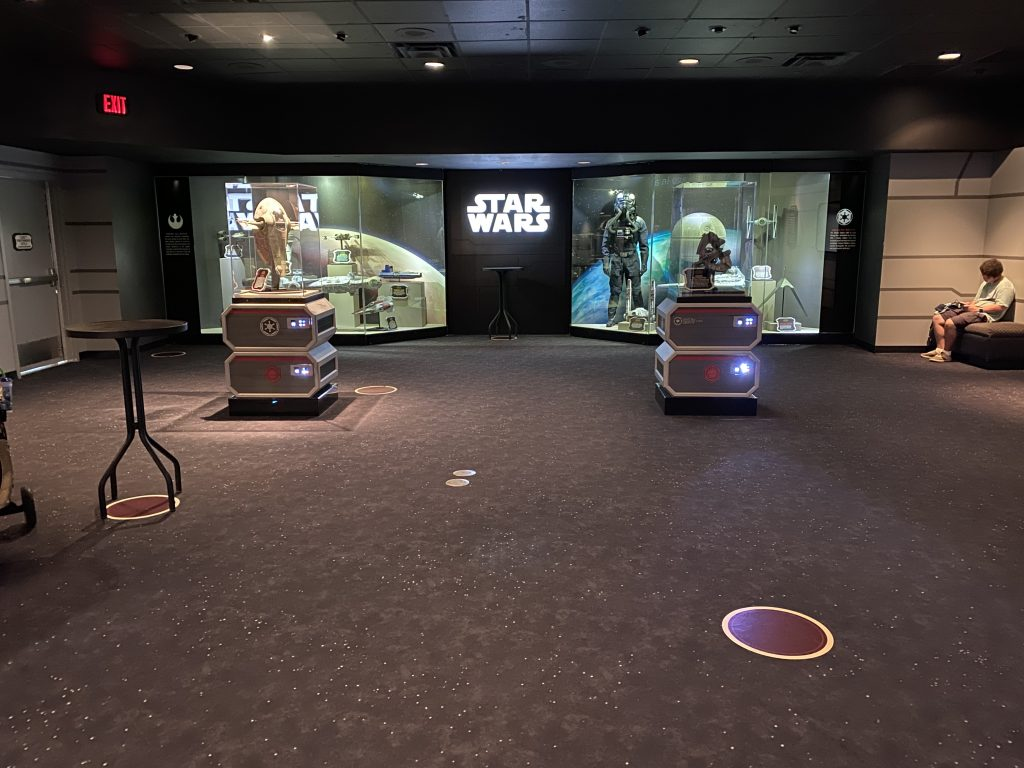 Walt Disney World Mask Relaxation Stations