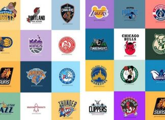 NBA Disney logos