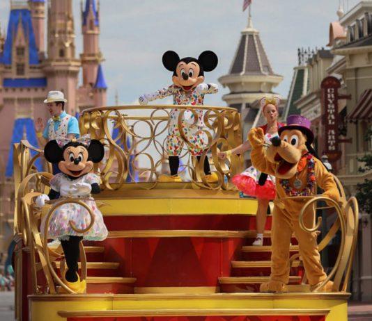 Characters at Walt Disney World
