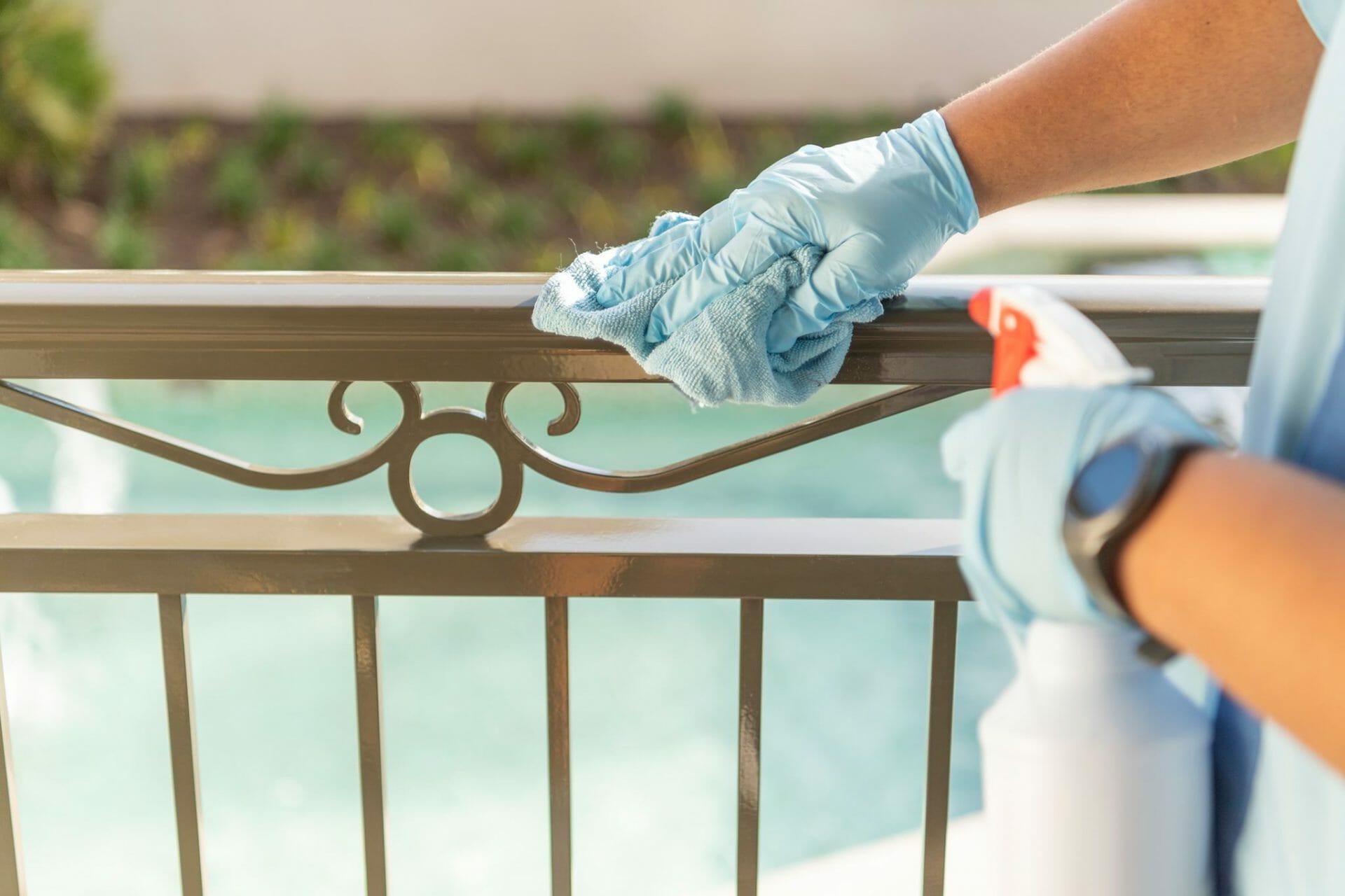 Walt Disney World Attraction Cleaning Procedures
