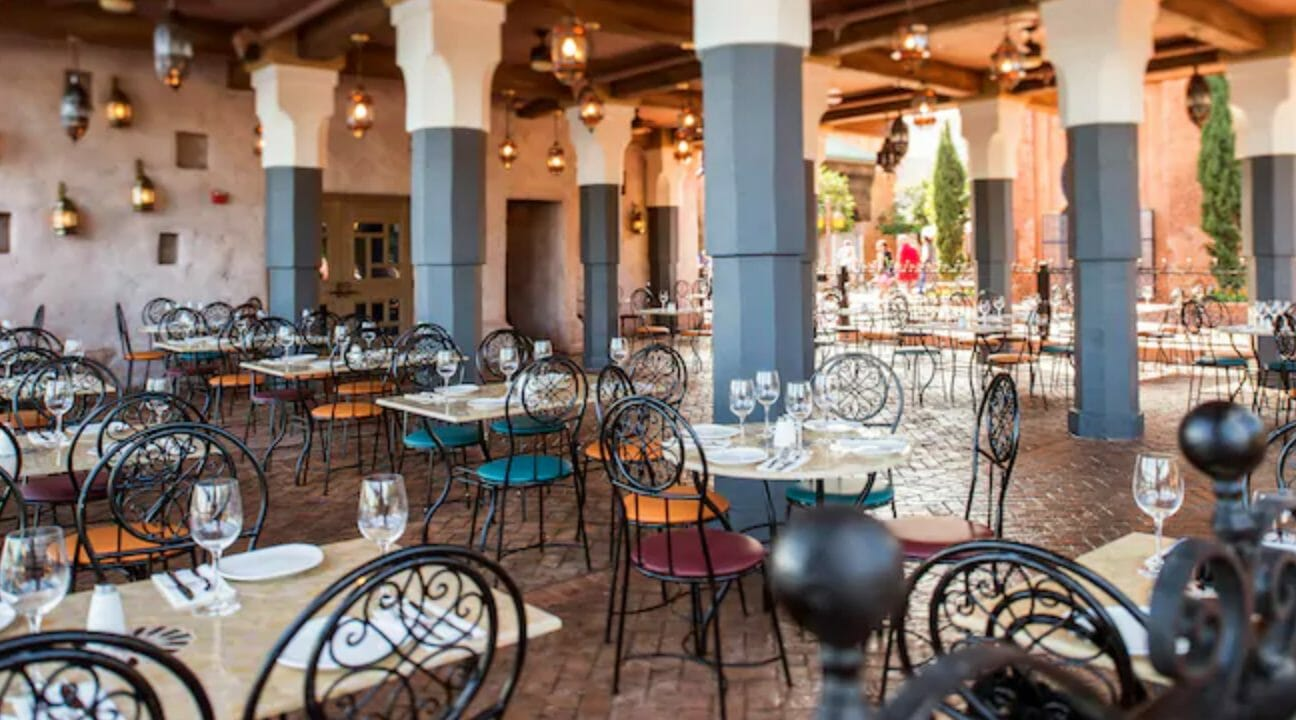 Walt Disney World Dining With Outdoor Seating