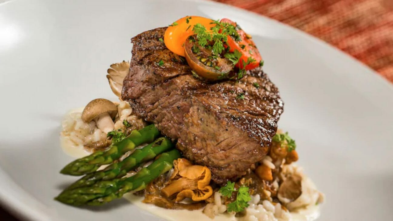 Top 5 Restaurants For Steak at Walt Disney World