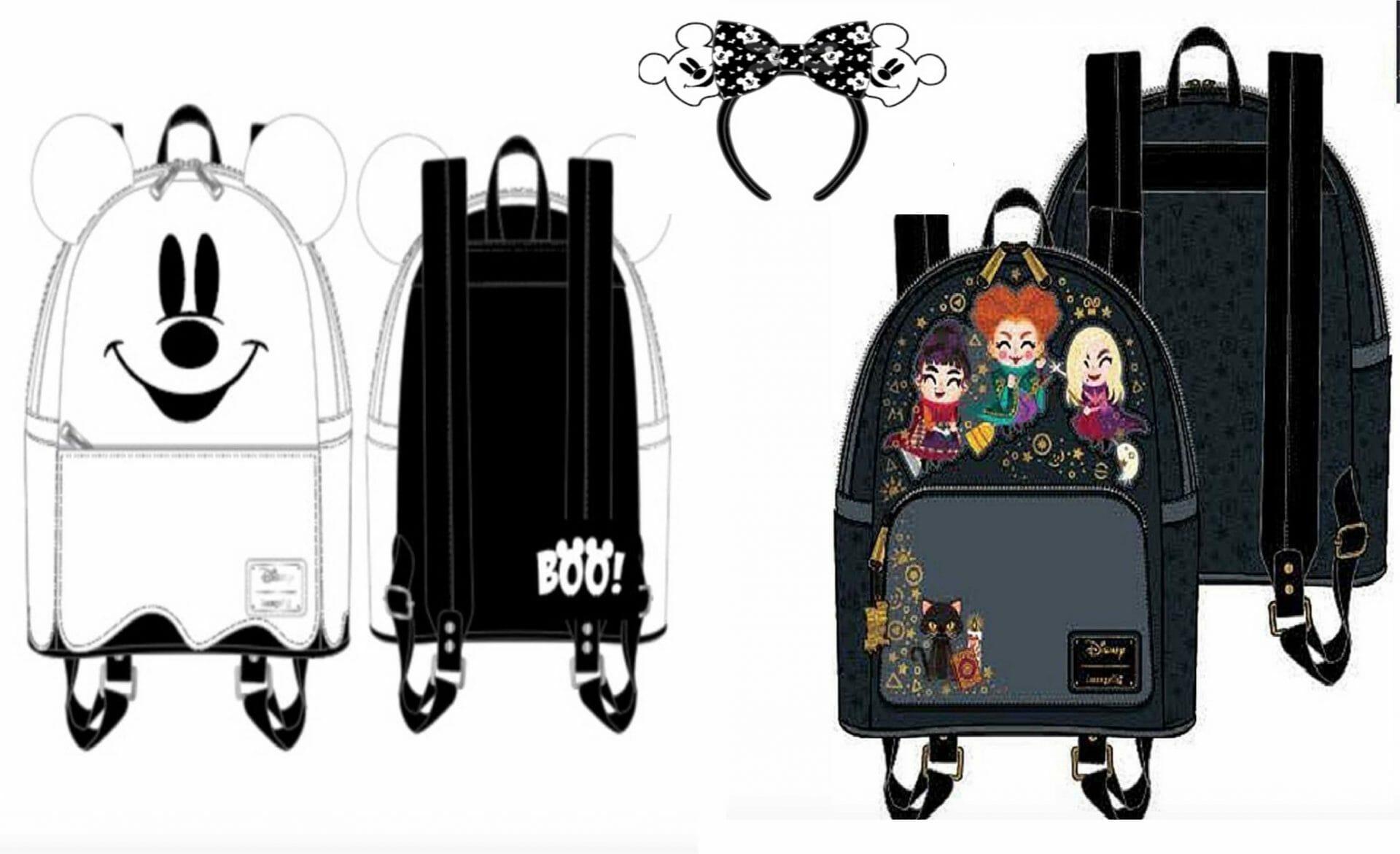 New Loungefly Disney Halloween Merchandise Sneak Peek!