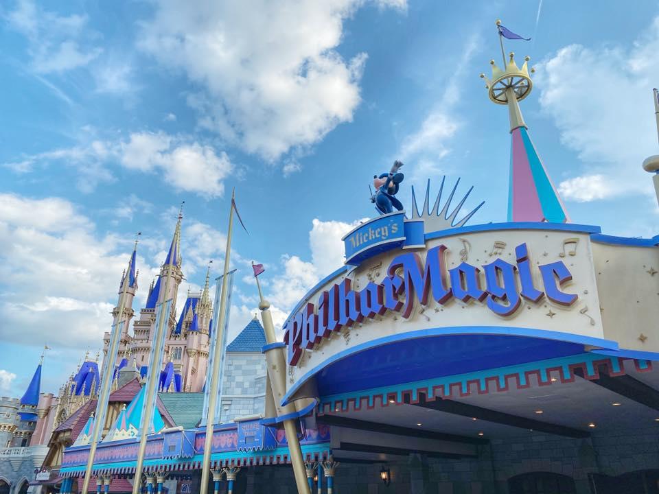 Magic Kingdom Philharmagic Cinderella castle walt disney world