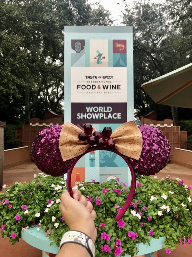Food and wine festival ears EPCOT
