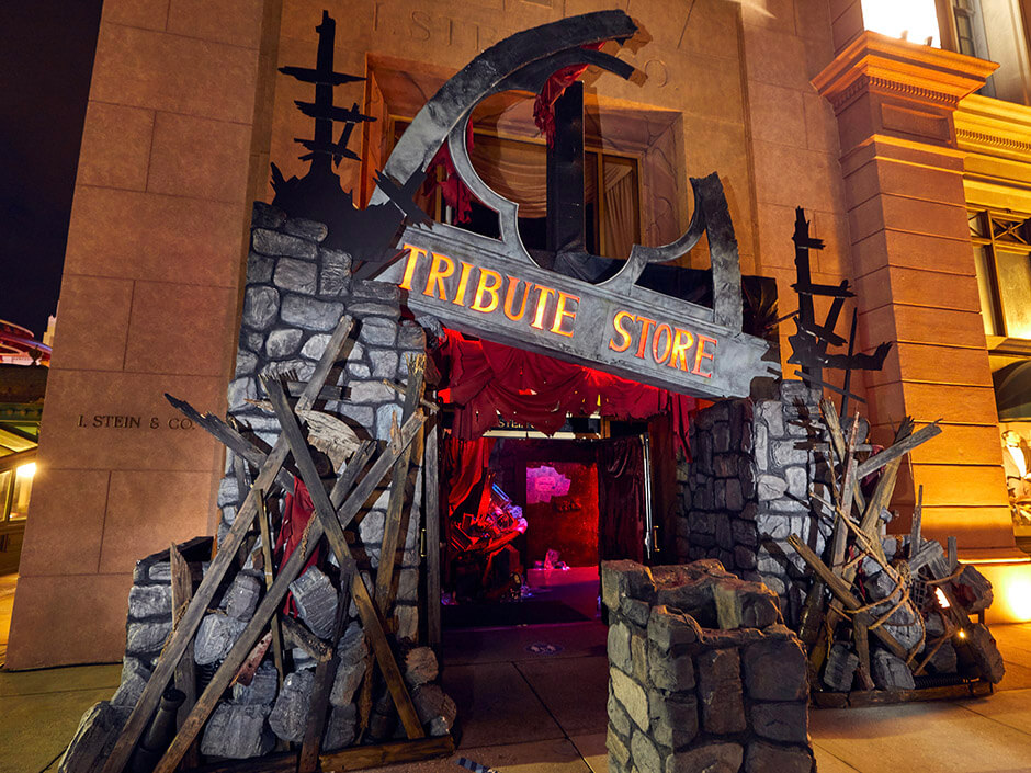Halloween Horror Nights Tribute Store