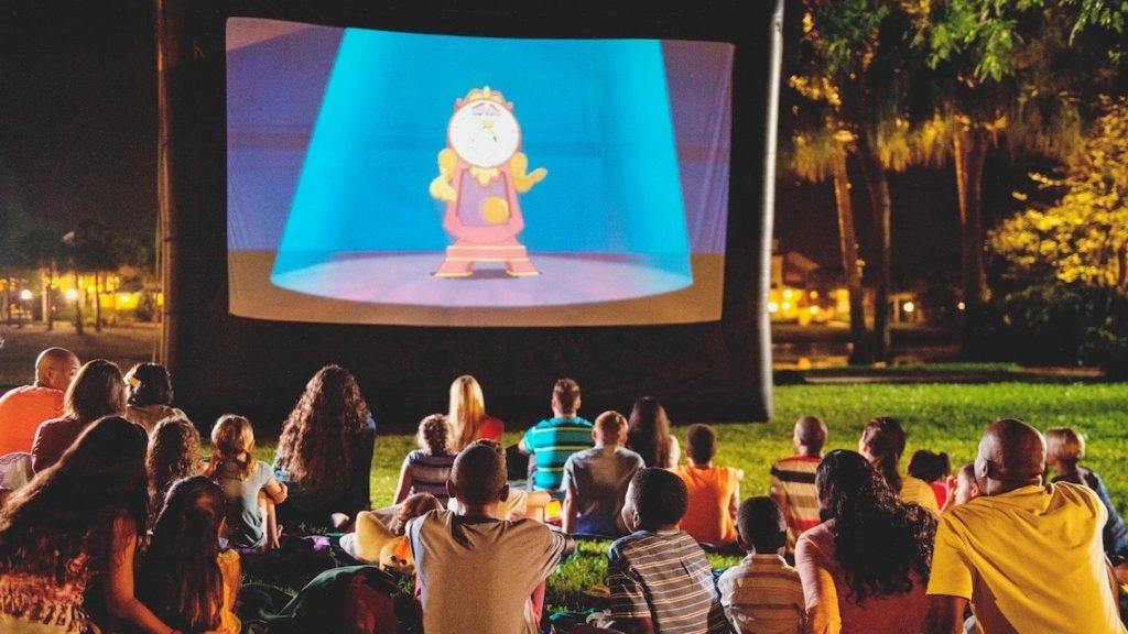 Movies Under the Stars Walt Disney World
