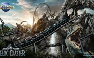 Jurassic World VelociCoaster Opening in Summer 2021 at Universal's Islands of Adventure