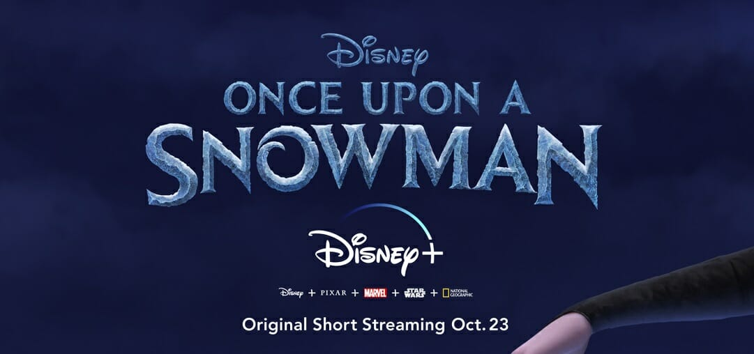 Once Upon a Snowman Disney+ Frozen