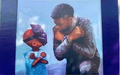 Memorial to Chadwick Boseman Added to Downtown Disneyland