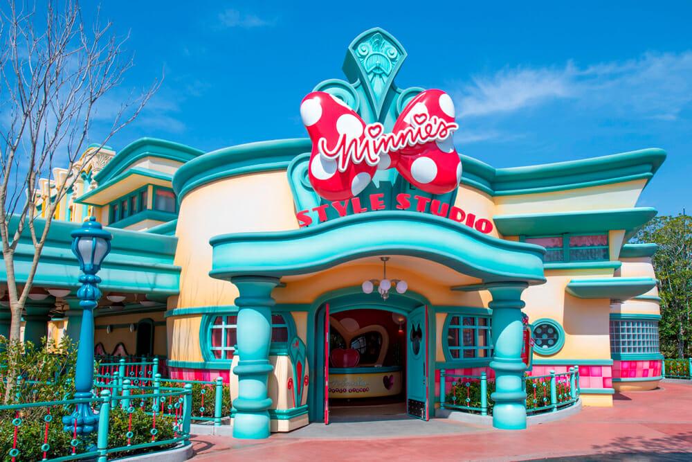 Minnie's Style Studio Tokyo Disney