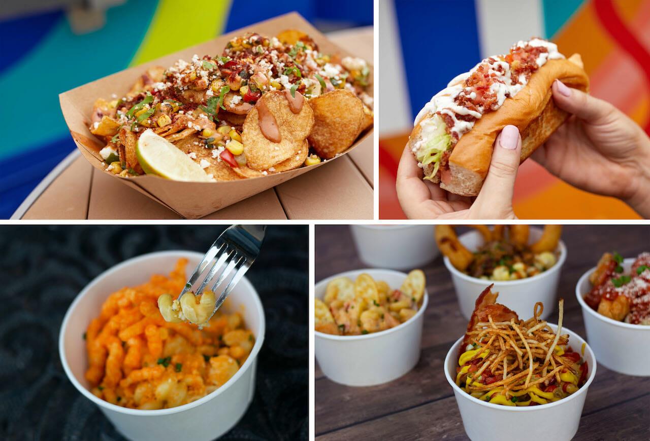 Hot Diggity Dogs and Mac & Cheese Disney Food Trucks