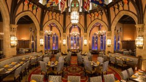 Cinderella Royal Table Magic Kingdom