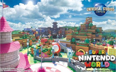 Concept Art for Super Nintendo World at Universal Studios Japan Released