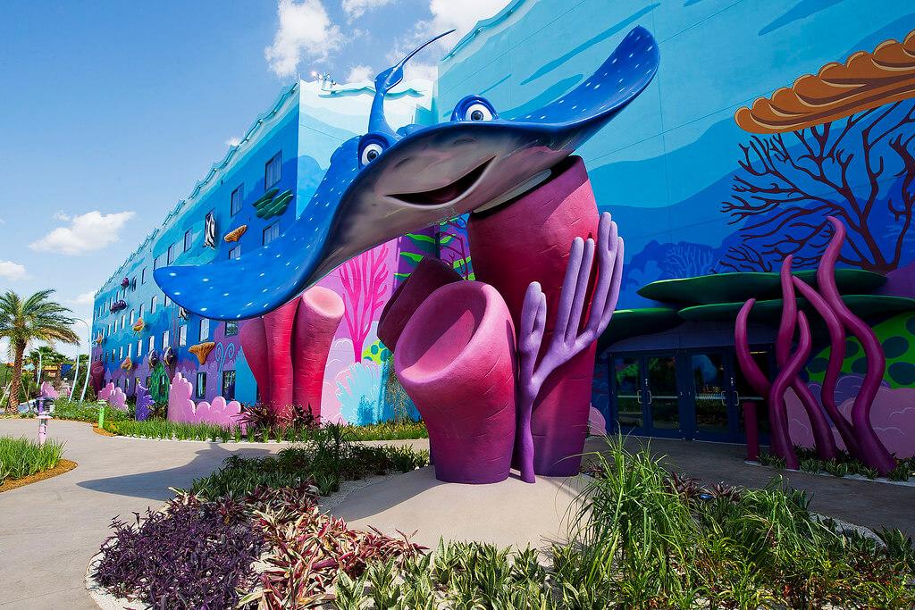 Big Blue Pool Art of Animation