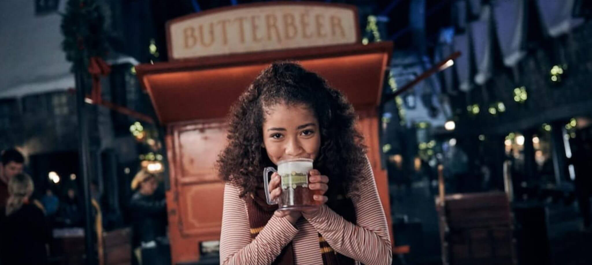 Universal Orlando Holiday Wizarding World Butterbeer