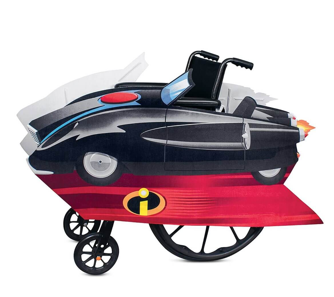 Incredimobile Wheelchair Cover Set by Disguise – Incredibles 2