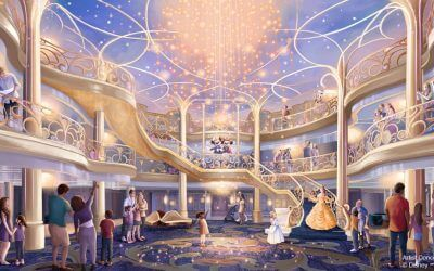 Disney to do a Virtual Grand Reveal of the Disney Wish, the Cruise Line's Newest Ship