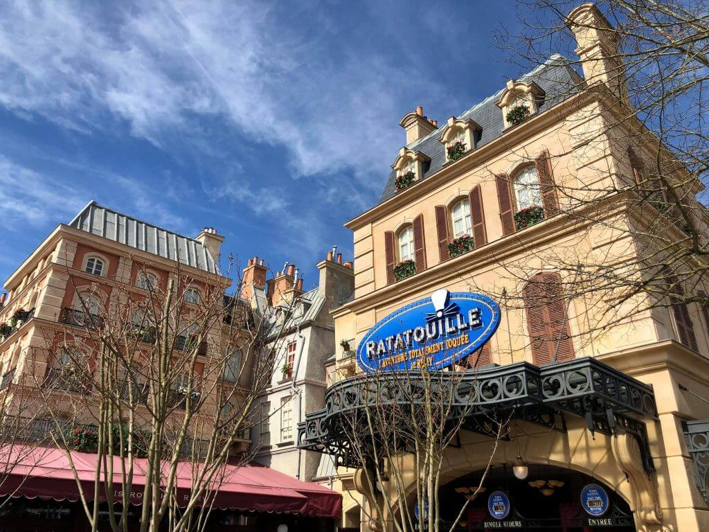 Remy's Ratatouille Adventure Disneyland Beginning October 1st guests will be able to enjoy a new adventure at Epcot with Remy's Ratatouille Adventure.