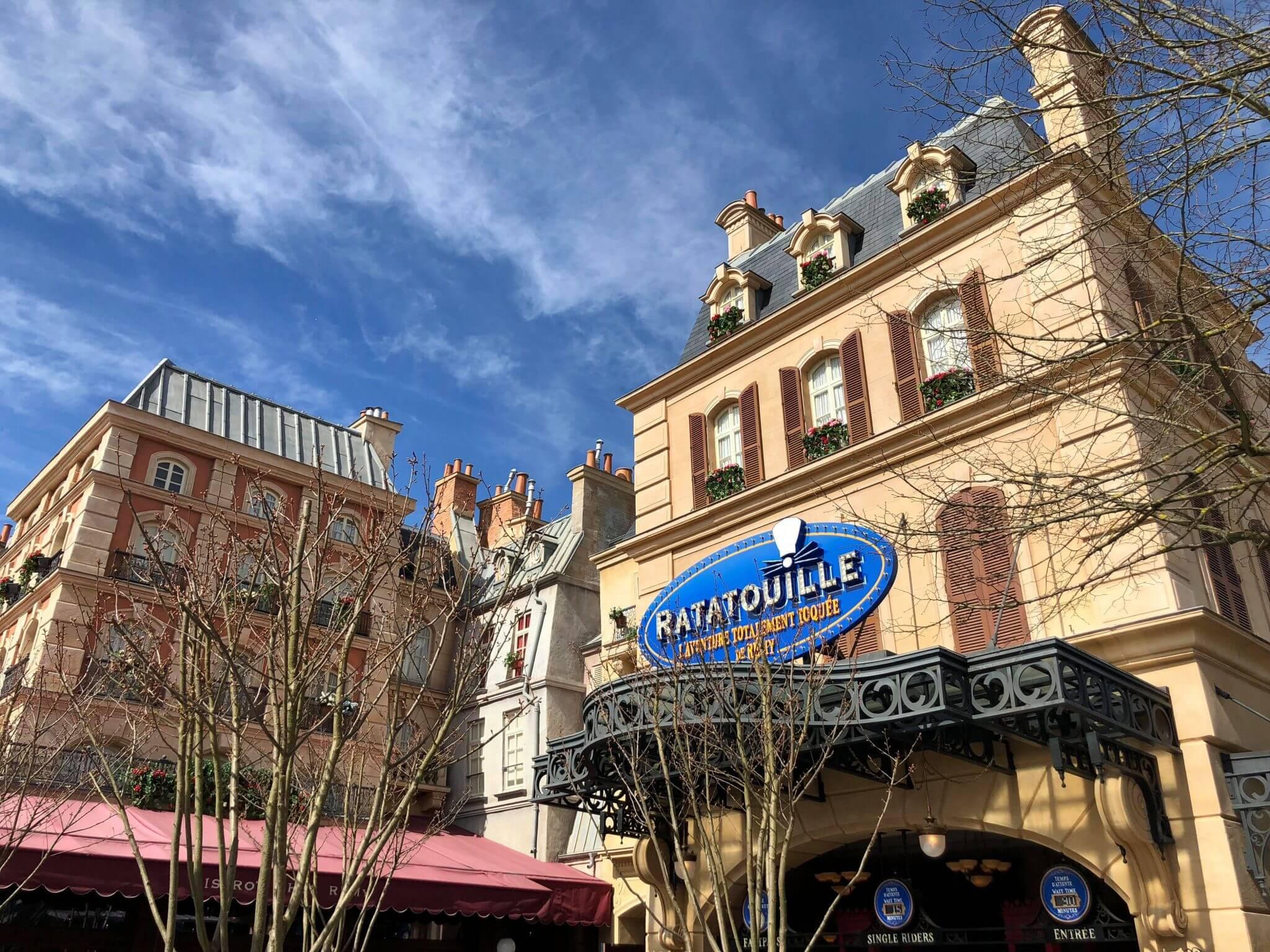Remy's Ratatouille Adventure Disneyland Paris