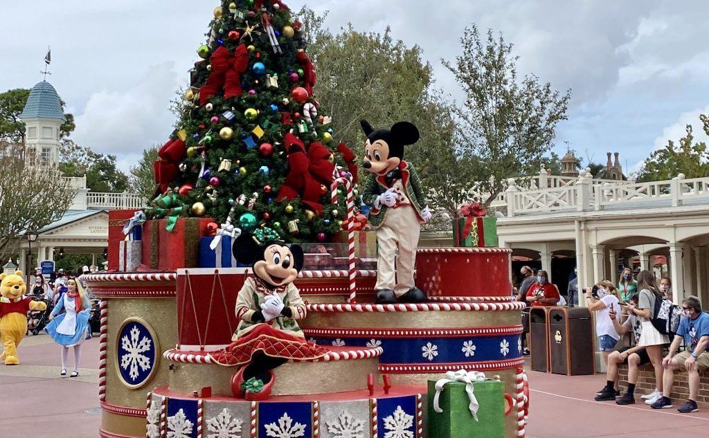 Once Upon a Christmastime at Christmas Magic Kingdom Cavalcade 2020