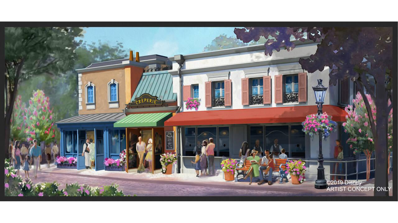 France Pavilion Expansion EPCOT