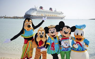 The Disney Wonder Sets Sail to Castaway Cay
