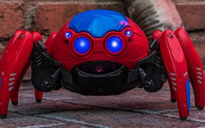 Take a Look at the Spider-Bot from Avengers Campus at Disneyland Resort