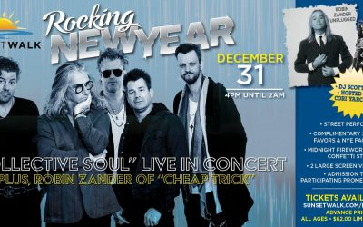 The Promenade at Sunset Walk to Host NYE Concert Starring Collective Soul!
