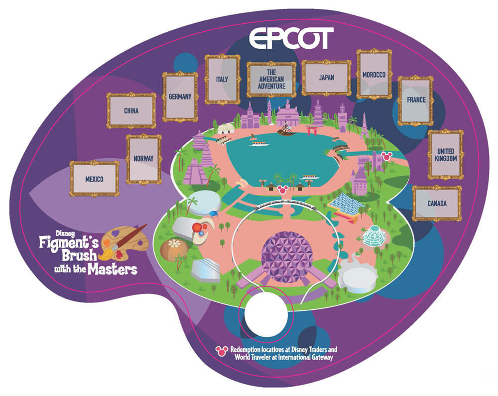 Figment's Brush With The Masters - Taste of EPCOT International Festival of the Arts