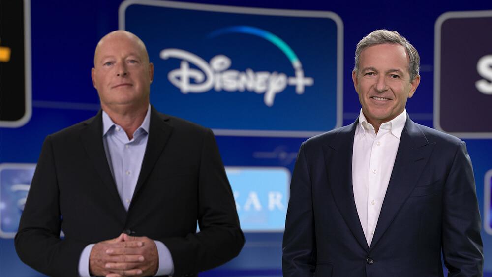 Bob Chapek Bob Iger Disney+ Investors Day