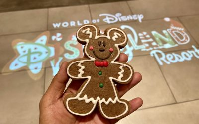 Disney's Famous Mickey Gingerbread Cookie Recipe