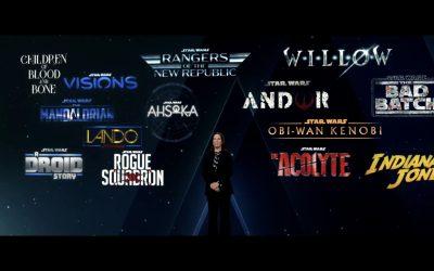 Disney Investor Day 2020 Disney+ and Future Film Summary