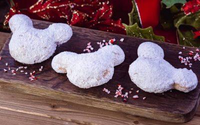 Disneyland Recipes Holiday Mickey Beignets