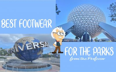 Tips: Top Shoe Choices For A Trip To Orlando Theme Parks