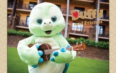 Duffy's Friend 'Olu Mel Now Greets Guests at Aulani, A Disney Resort & Spa