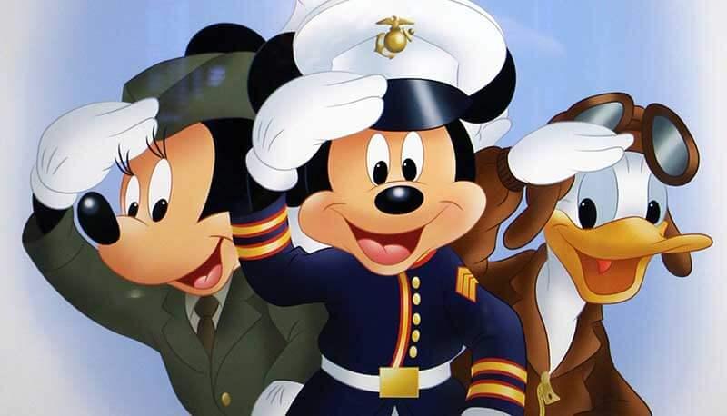 Military Saluted Tickets 2021 Walt Disney World