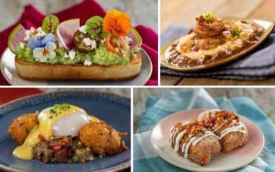 2021 Taste of Epcot Flower and Garden Festival Food Kitchen Menus