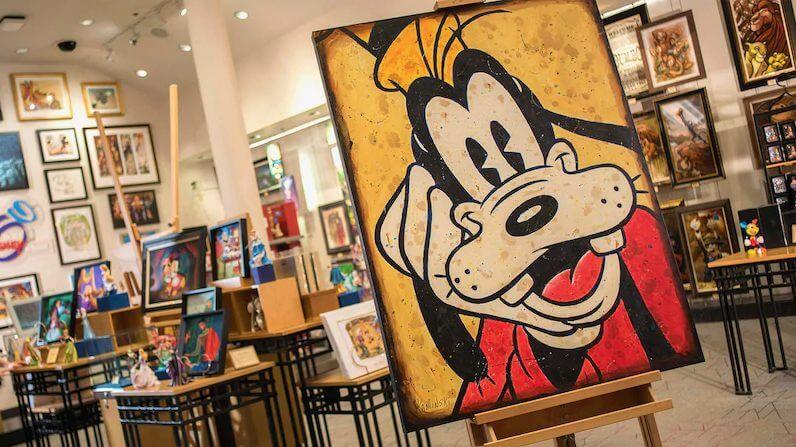Art of Disney in Disney Springs