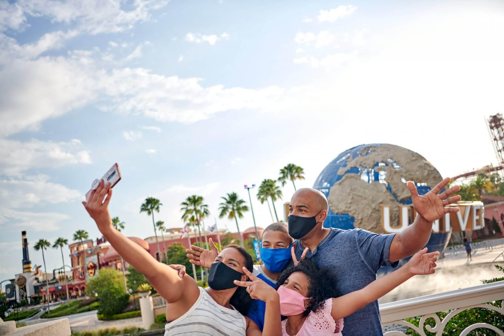 Universal Orlando Guests Masks