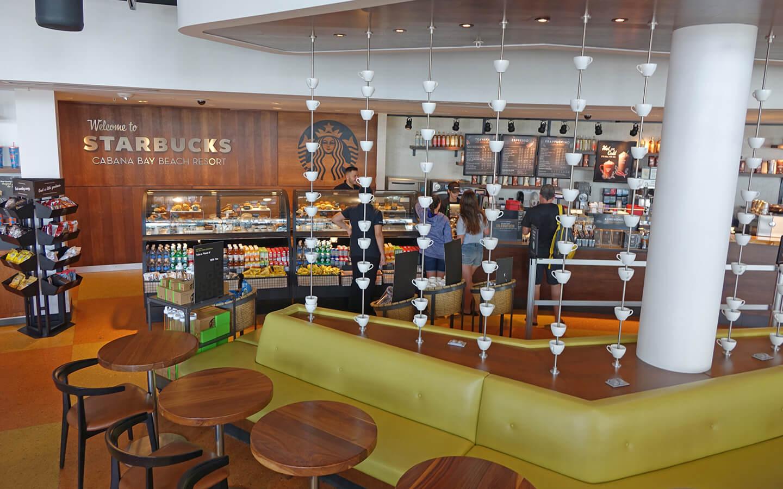 Cabana Bay Starbucks Universal Orlando Resort