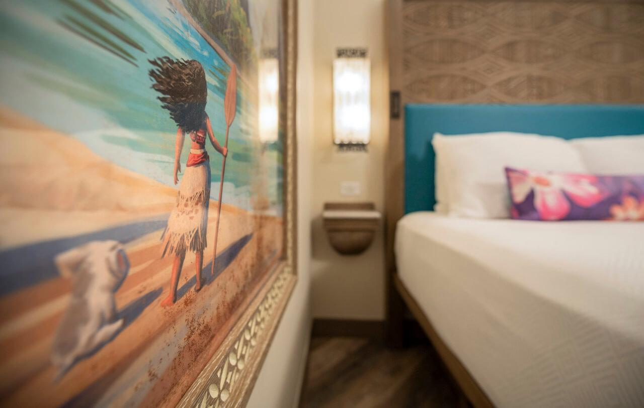 Disney's Polynesian Village Resort Moana Rooms
