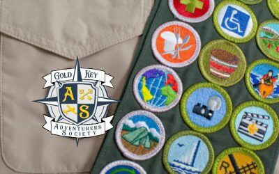 Gold Key Adventurers Society Podcast: Travel Merit Badges