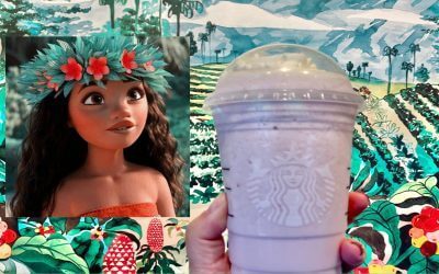 You Can Now Order A Moana Themed Frappuccino At Starbucks