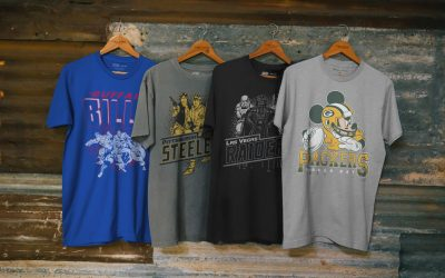 New NFL Tees Featuring Mickey and your Favorite Characters from Star Wars and Marvel