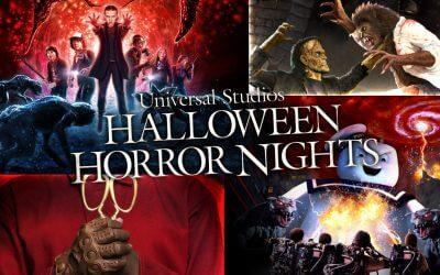 Universal Orlando Halloween Horror Nights 2021 Schedule