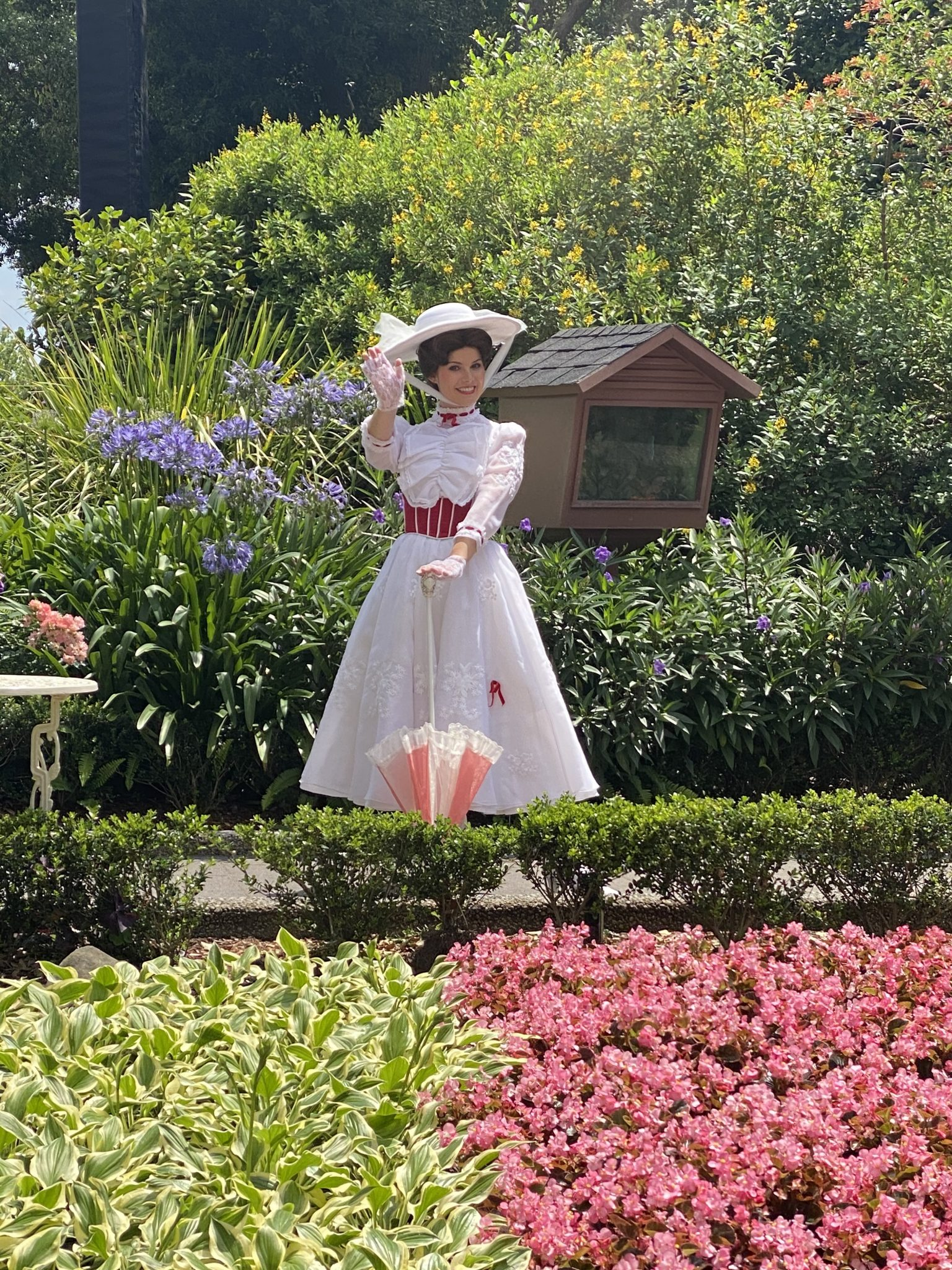 Where Can You Disney Characters at Walt Disney World Now- Mary Poppins